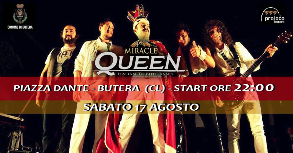 MiracleQueen Live Show - 17 agosto 2019 - In The Spot Light